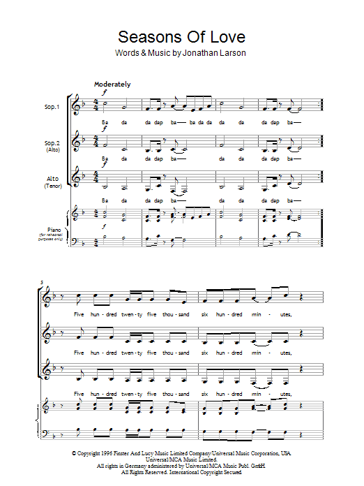 Paolo Santos  Seasons Of Love Chords  AZ Chords