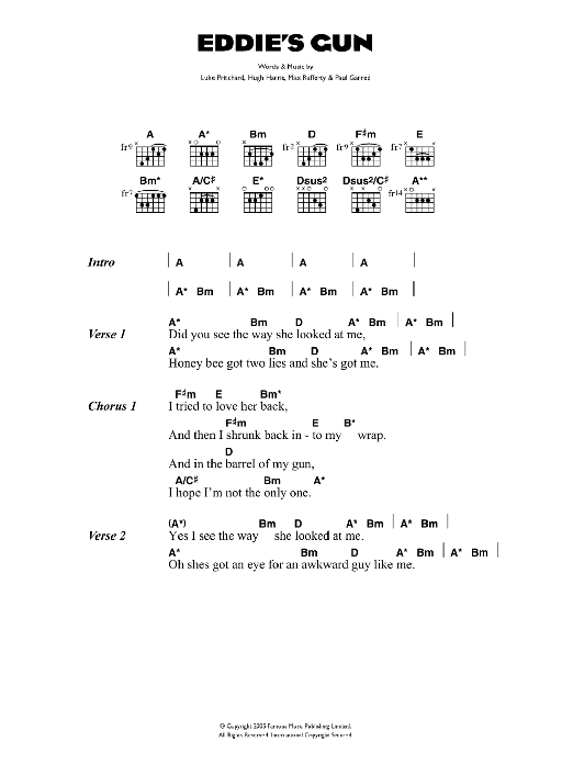 Eddie's Gun Sheet Music