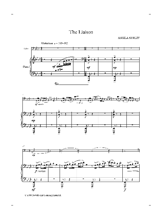 The Liaison (score and parts) Sheet Music