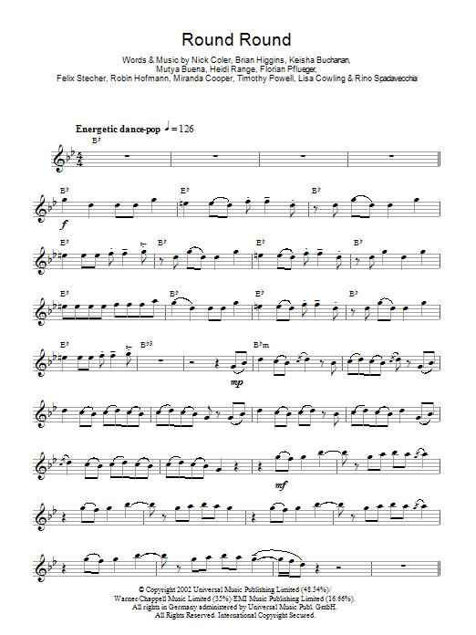 Round Round Sheet Music