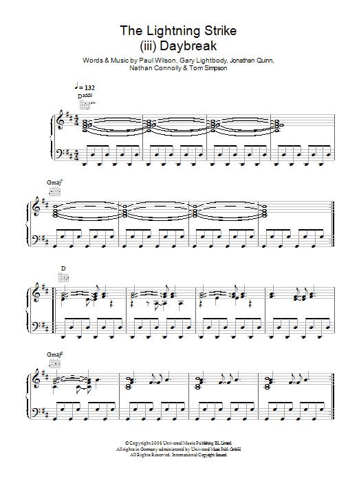 The Lightning Strike (iii. Daybreak) Sheet Music