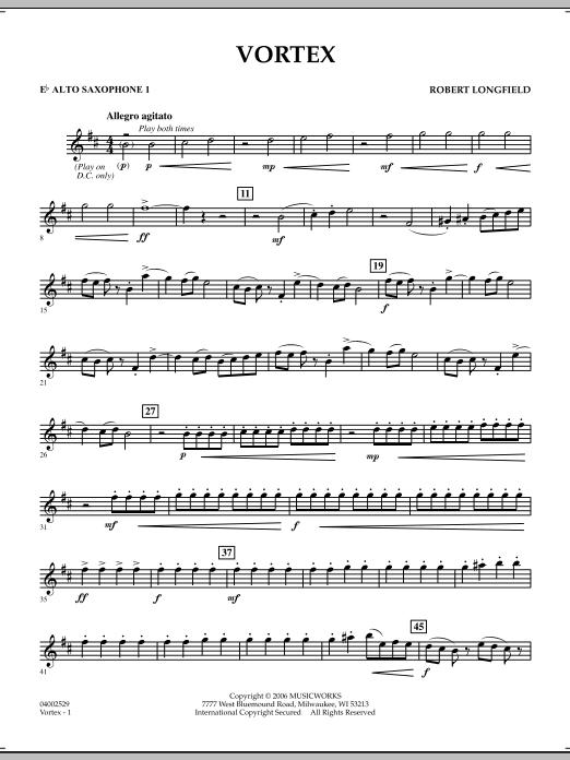 Vortex - Eb Alto Saxophone 1 (Concert Band)