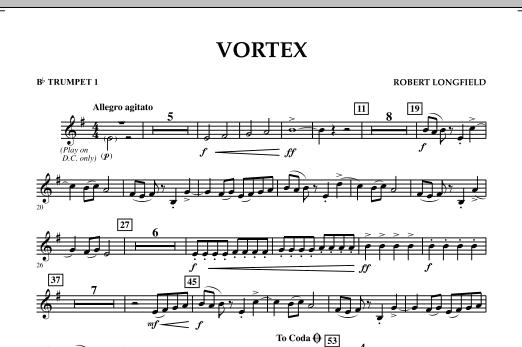 Vortex - Bb Trumpet 1 (Concert Band)
