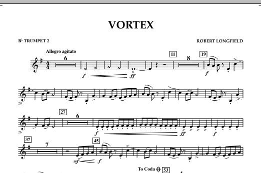 Vortex - Bb Trumpet 2 (Concert Band)