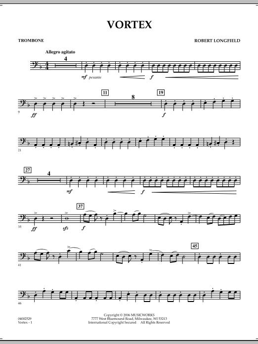 Vortex - Trombone (Concert Band)