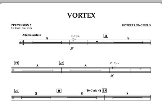 Vortex - Percussion 2 (Concert Band)