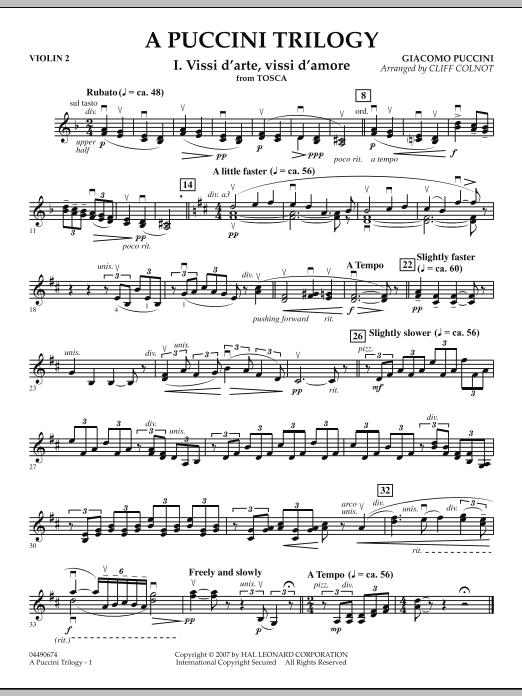 A Puccini Trilogy - Violin 2 (Orchestra)