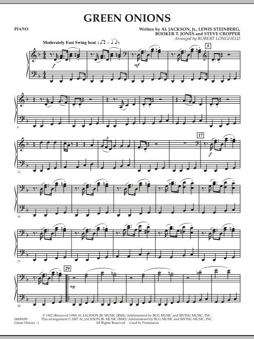 Green Onions - Piano (Orchestra)