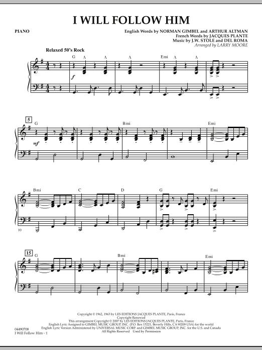 I Will Follow Him - Piano (Orchestra)