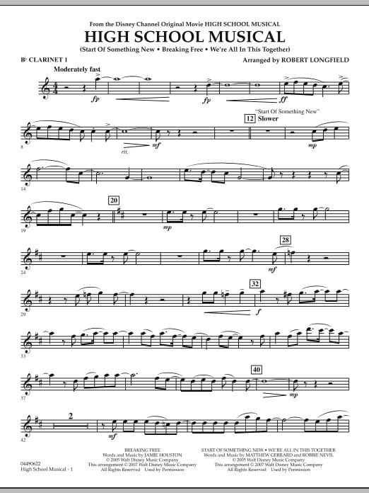 High School Musical - Bb Clarinet 1 (Full Orchestra)