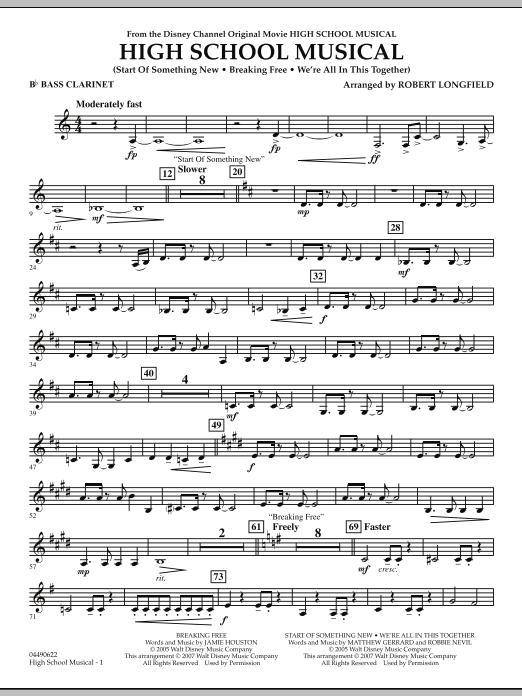 High School Musical - Bb Bass Clarinet (Full Orchestra)