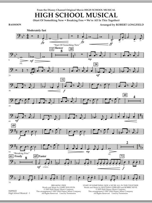 High School Musical - Bassoon (Full Orchestra)