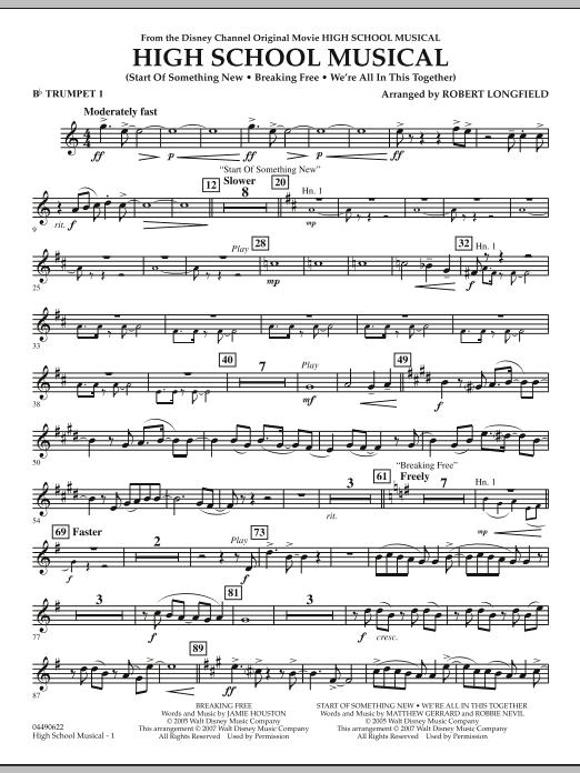 High School Musical - Bb Trumpet 1 (Full Orchestra)