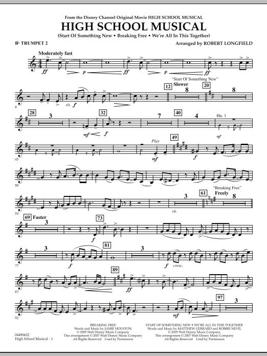 High School Musical - Bb Trumpet 2 (Full Orchestra)