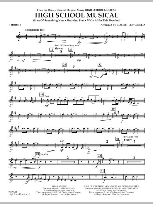 High School Musical - F Horn 1 (Full Orchestra)