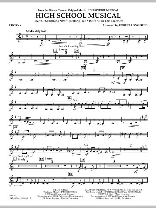 High School Musical - F Horn 4 (Full Orchestra)