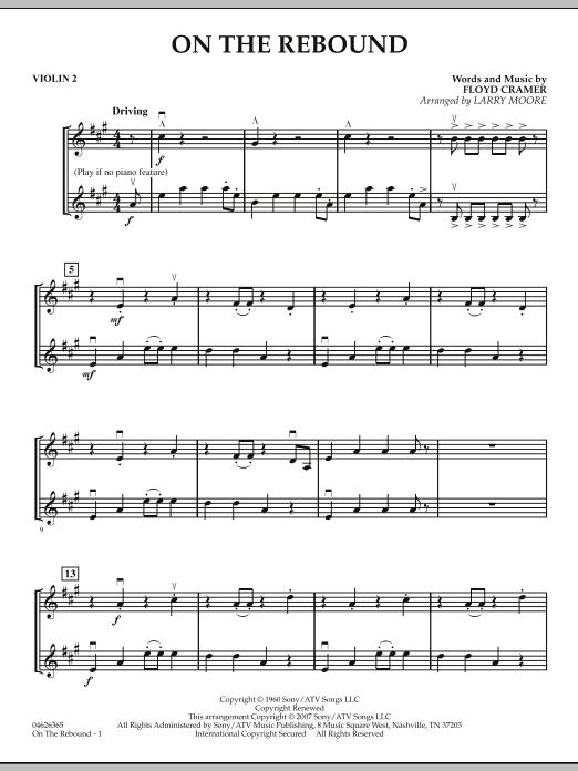 On the Rebound - Violin 2 (Orchestra)