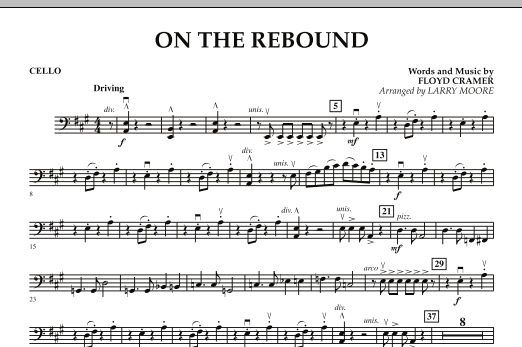 On the Rebound - Cello (Orchestra)