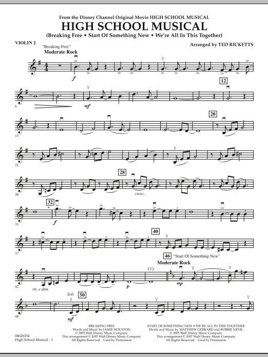 High School Musical - Violin 2 (Orchestra)