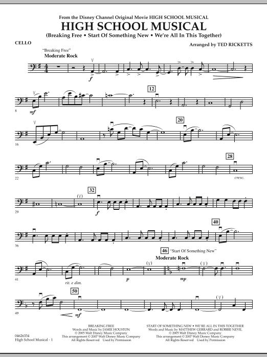 High School Musical - Cello (Orchestra)