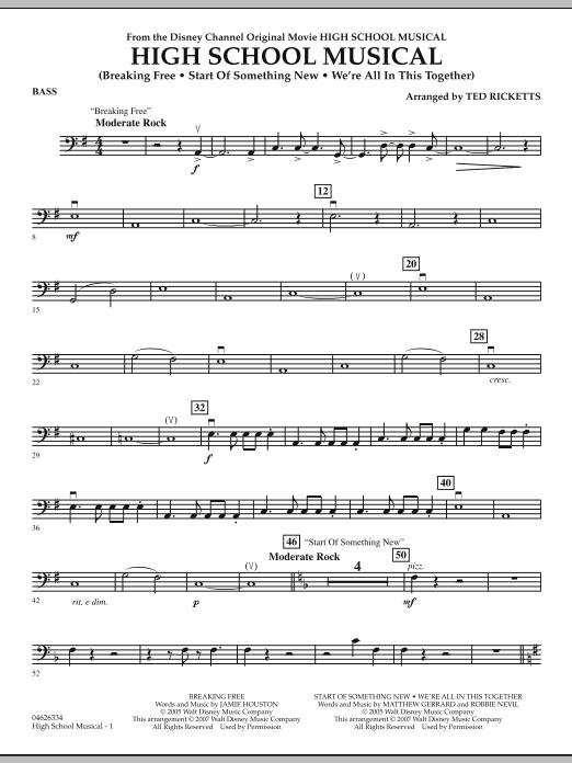 High School Musical - Bass (Orchestra)