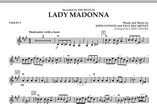 Lady Madonna - Violin 2 (Orchestra)