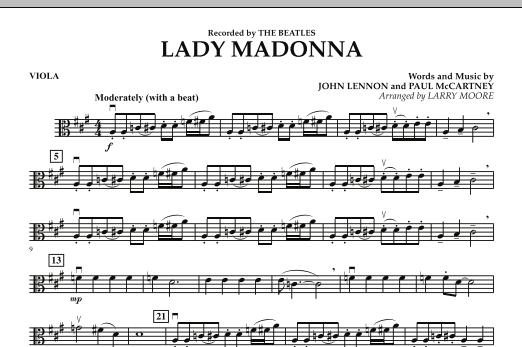 Lady Madonna - Viola (Orchestra)