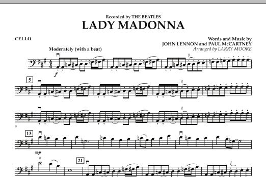 Lady Madonna - Cello (Orchestra)