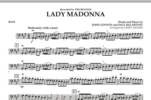 Lady Madonna - Bass (Orchestra)