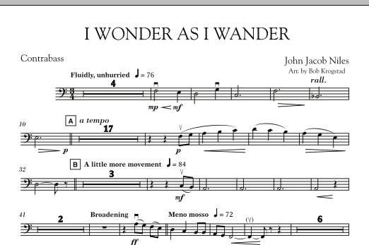 I Wonder As I Wander - String Bass (Orchestra)