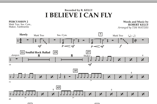 I Believe I Can Fly - Percussion 2 (Concert Band)