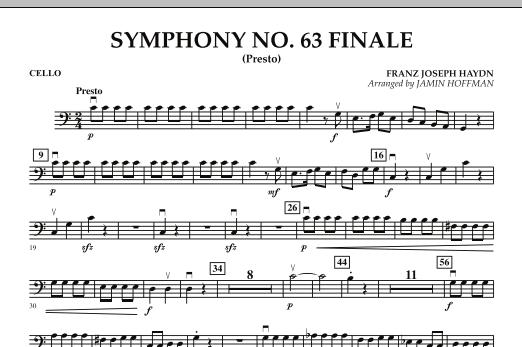Symphony No. 63 Finale (Presto) - Cello (Orchestra)