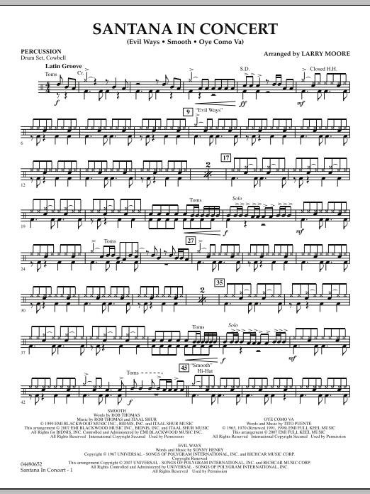 Santana in Concert - Percussion (Orchestra)