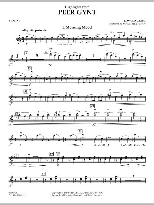 Highlights from Peer Gynt - Violin 1 (Orchestra)