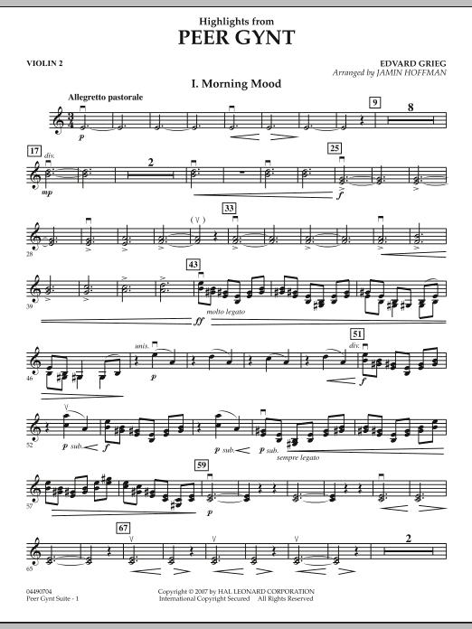 Highlights from Peer Gynt - Violin 2 (Orchestra)