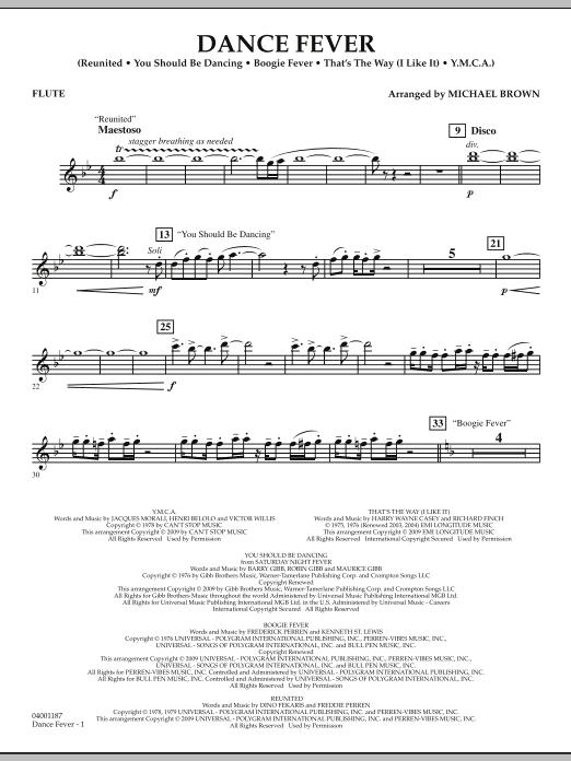 Dance Fever - Flute (Concert Band)