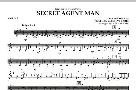 Secret Agent Man - Violin 2 (Orchestra)