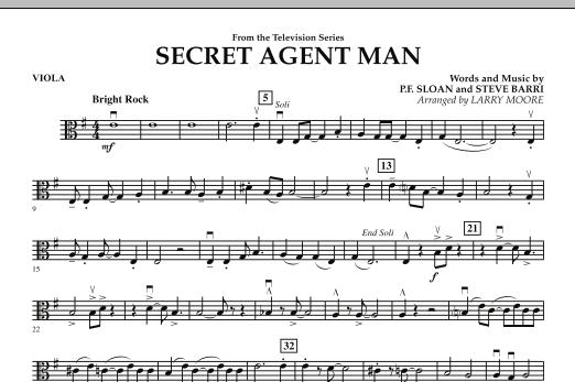 Secret Agent Man - Viola (Orchestra)