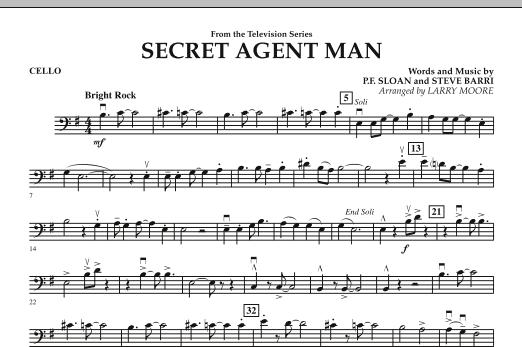 Secret Agent Man - Cello (Orchestra)