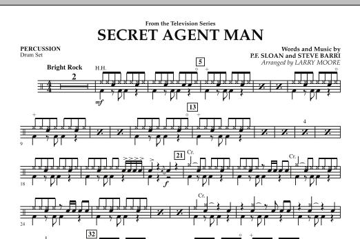 Secret Agent Man - Percussion (Orchestra)