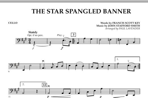Star Spangled Banner - Cello (Orchestra)