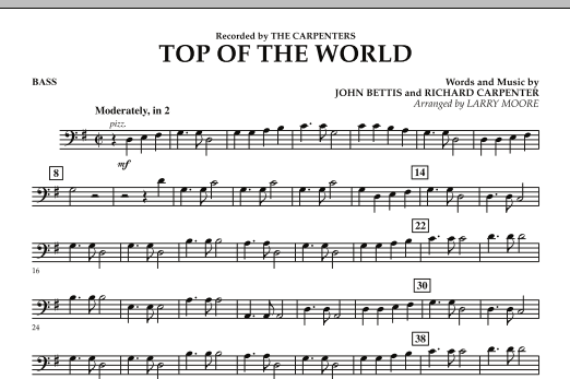 Top of the World - Bass (Orchestra)