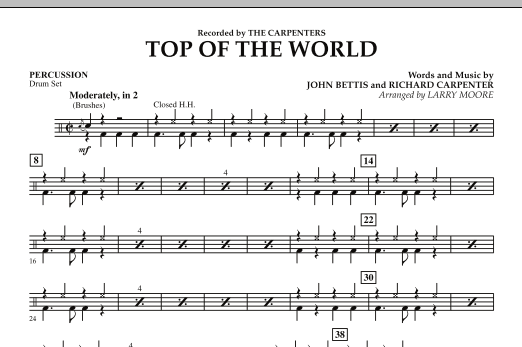 Top of the World - Percussion (Orchestra)