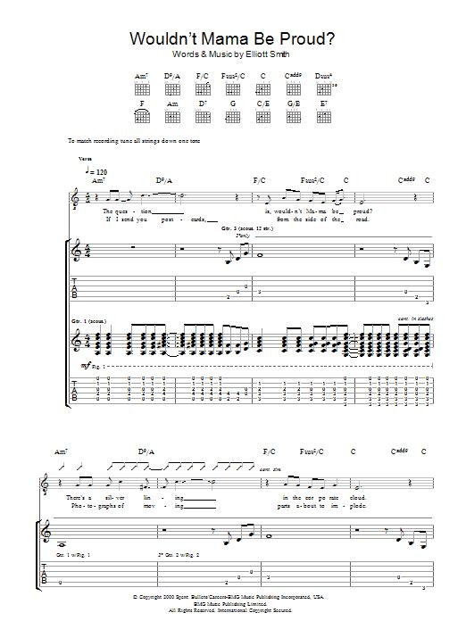 Wouldn't Mama Be Proud? (Guitar Tab)