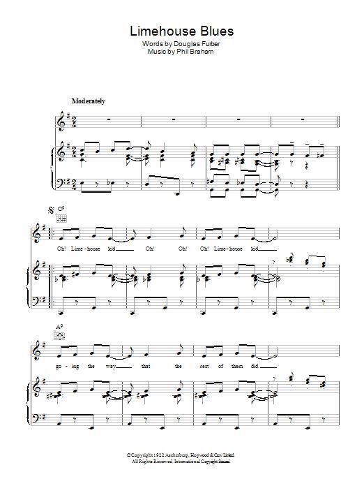 Limehouse Blues Sheet Music