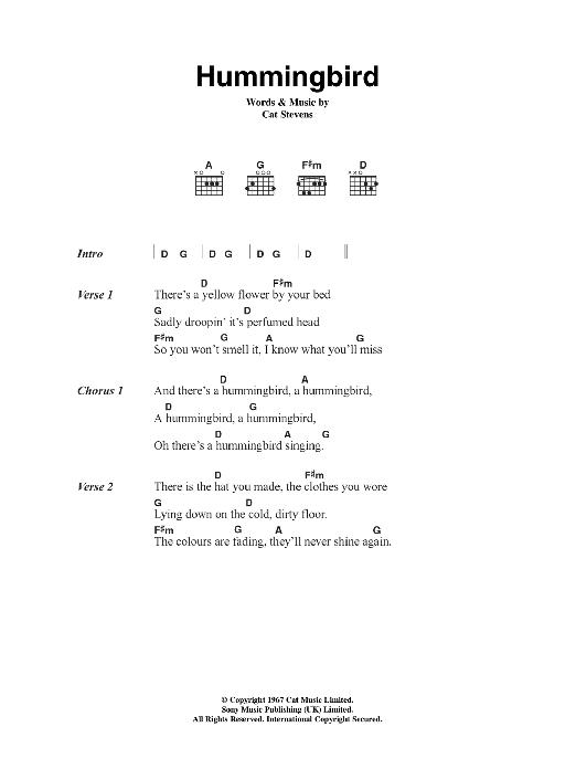 Hummingbird Sheet Music