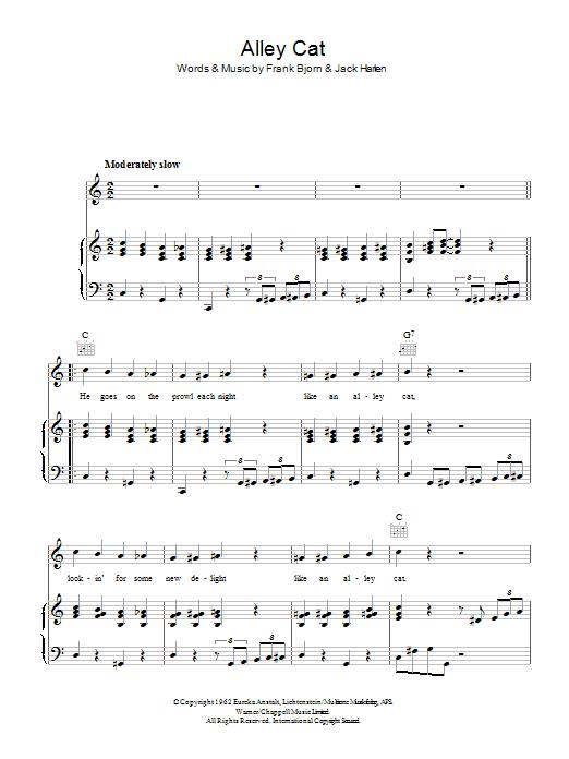 Alley Cat Sheet Music
