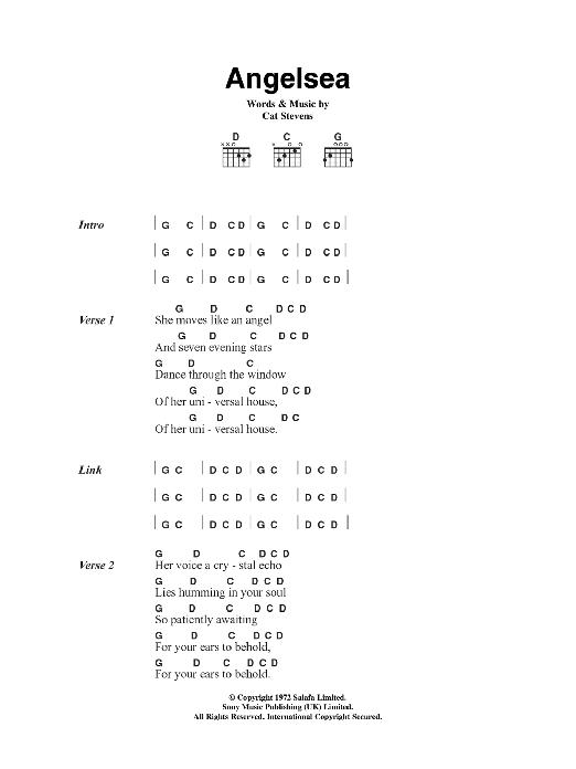 Angelsea Sheet Music