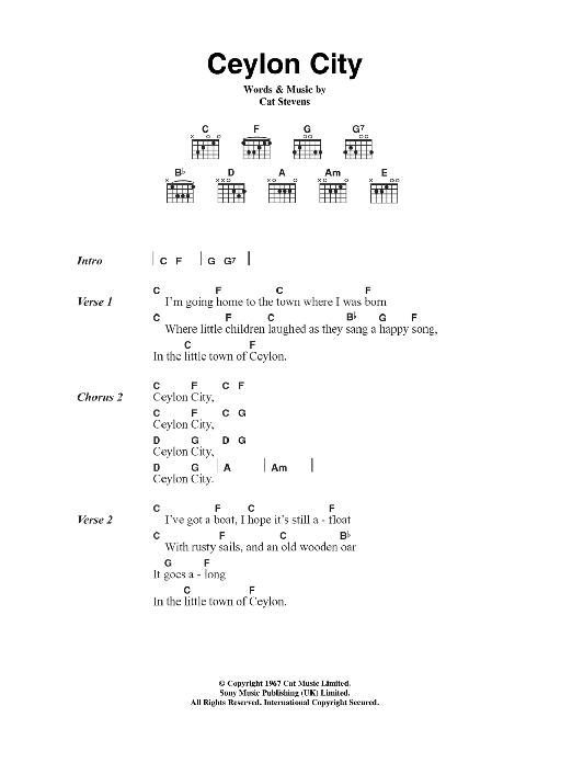 Ceylon City Sheet Music