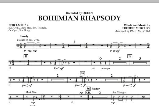 Bohemian Rhapsody - Percussion 2 (Concert Band)